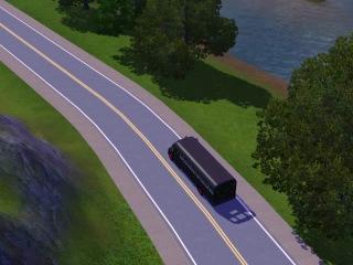 Подскажите что за автобус в симс Голивуд